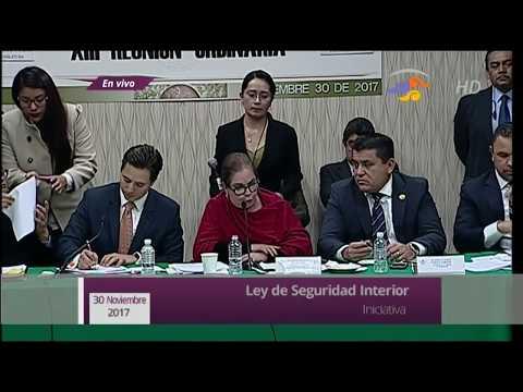 Avanza Ley de Seguridad Interior, con votos del PRI y sus aliados