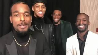 New Edition Story Cast Video Compilation (EXCLUSIVE) PART 2