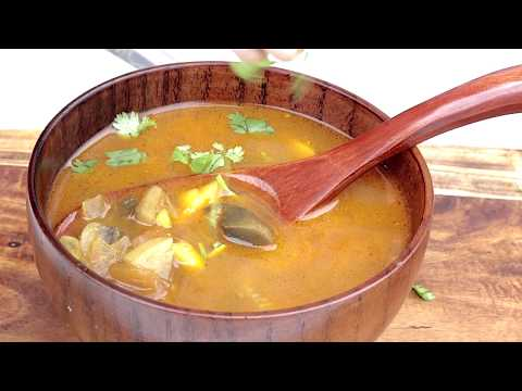 EASY MUSHROOM SOUP INDIAN STYLE | MUSHROOM SOUP WITHOUT CREAM | Outdoor Cooking Channel | GKN Flicks