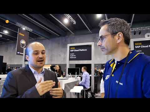 Talk on our Run Live Truck and Machine Learning at SAP TechEd