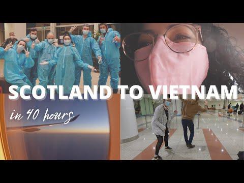 MOVING TO VIETNAM   Scotland to Hanoi in 40 hours - Vietnam vlog: episode 1