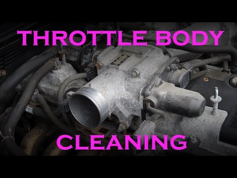 Throttle Body Cleaning 2JZ 3.0L Inline 6 Lexus GS300 and IS300