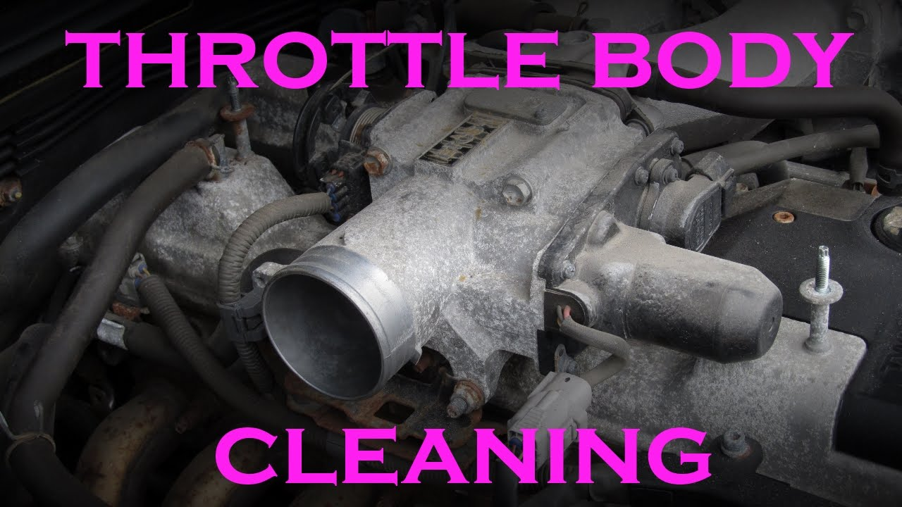 Throttle Body Cleaning 2JZ 30L Inline 6 Lexus GS300 and IS300  YouTube