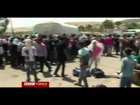 Suriye'den Irak'a mülteci akını