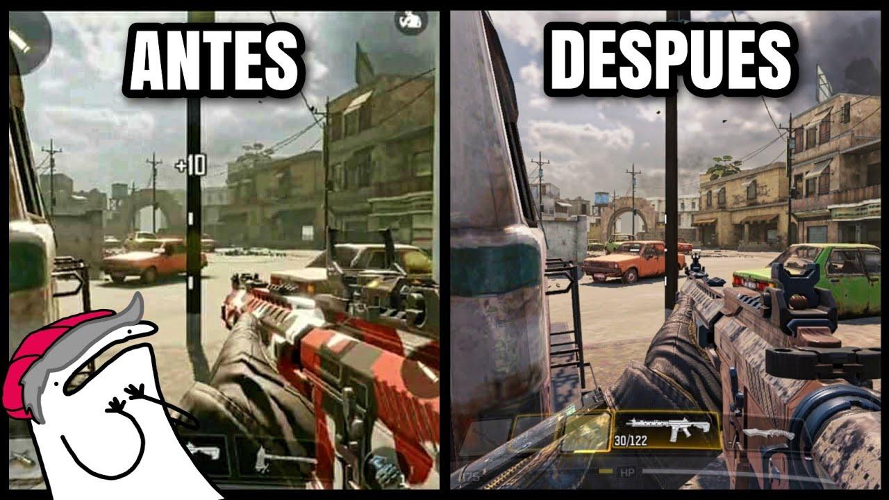 Así eran los gráficos de Call of Duty Mobile antes de su lanzamiento Global.