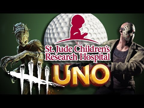 DEAD BY DAYLIGHT, UNO, GOLF, AND FRIDAY THE 13TH! | St. Jude Charity Stream From May 27 2017