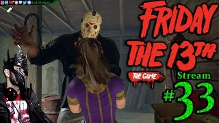 Friday The 13th: The Game 🌳☠️Jason👹🔪 All DLC💸PC💻Max✨#33rd Stream🎋