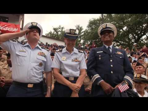 Robert Dittman, USCG Auxiliary Armed Forces Day 2017