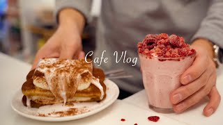 Eng)Cafe vlog / 구독자 6만명 감사합니다.…