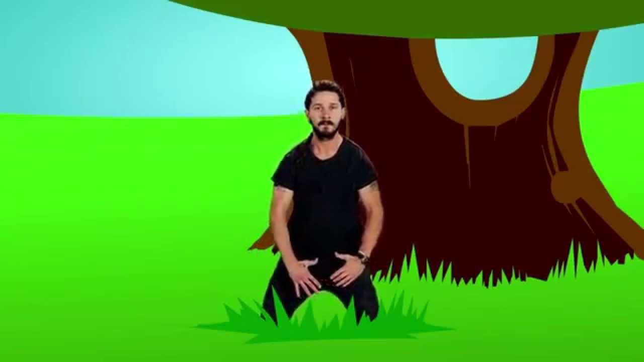 Shia Labeouf do it! Meets Badger Badger Badger song | 30 ...
