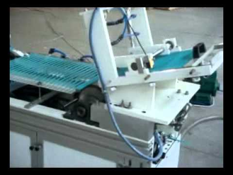 Automatic blade pad printer from Printing Systems International Company