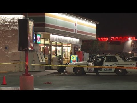 North Las Vegas police investigating deadly shooting outside 7-Eleven