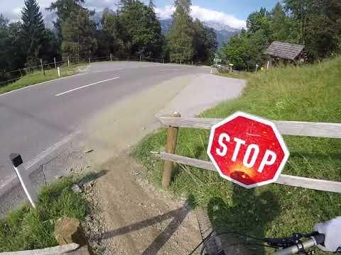 Bikepark Planai, Schladming, Downhill ab Mittelst. 2017