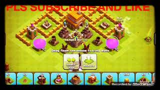 Clash of clans th6 troll base