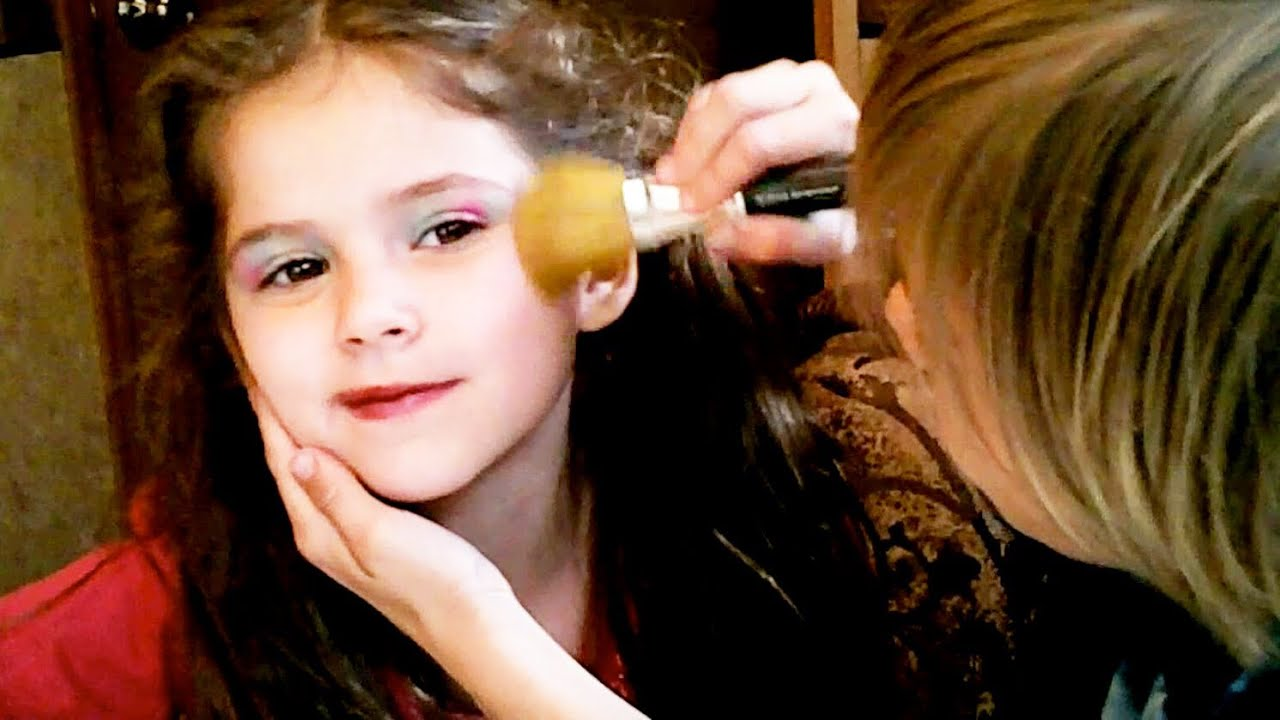 Makeup tutorial kids images any tutorial examples beauty fashion 8 a colorful rainbow makeup for kids on emma by beauty fashion 8 a baditri Gallery