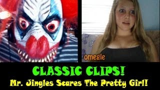 OMEGLE CLASSIC FUNNY MOMENTS! Evil Clown Scares Pretty Girl!