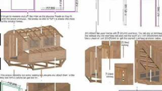 Gambrel Chicken Barn Plan