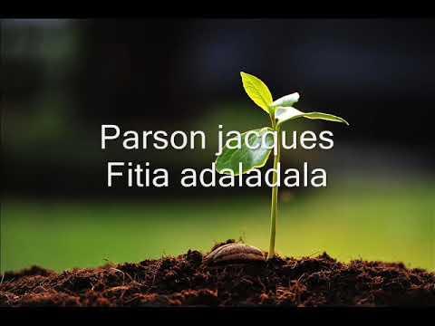PARSON JACQUES-Fitia adaladala