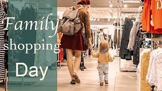 Wir gehen shoppen!! - Family Shopping Vlog