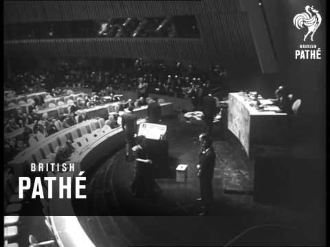 UN General Assembly Votes U Thant In As Secretary General (1962)