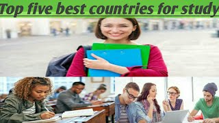 Top Five best countries for studies