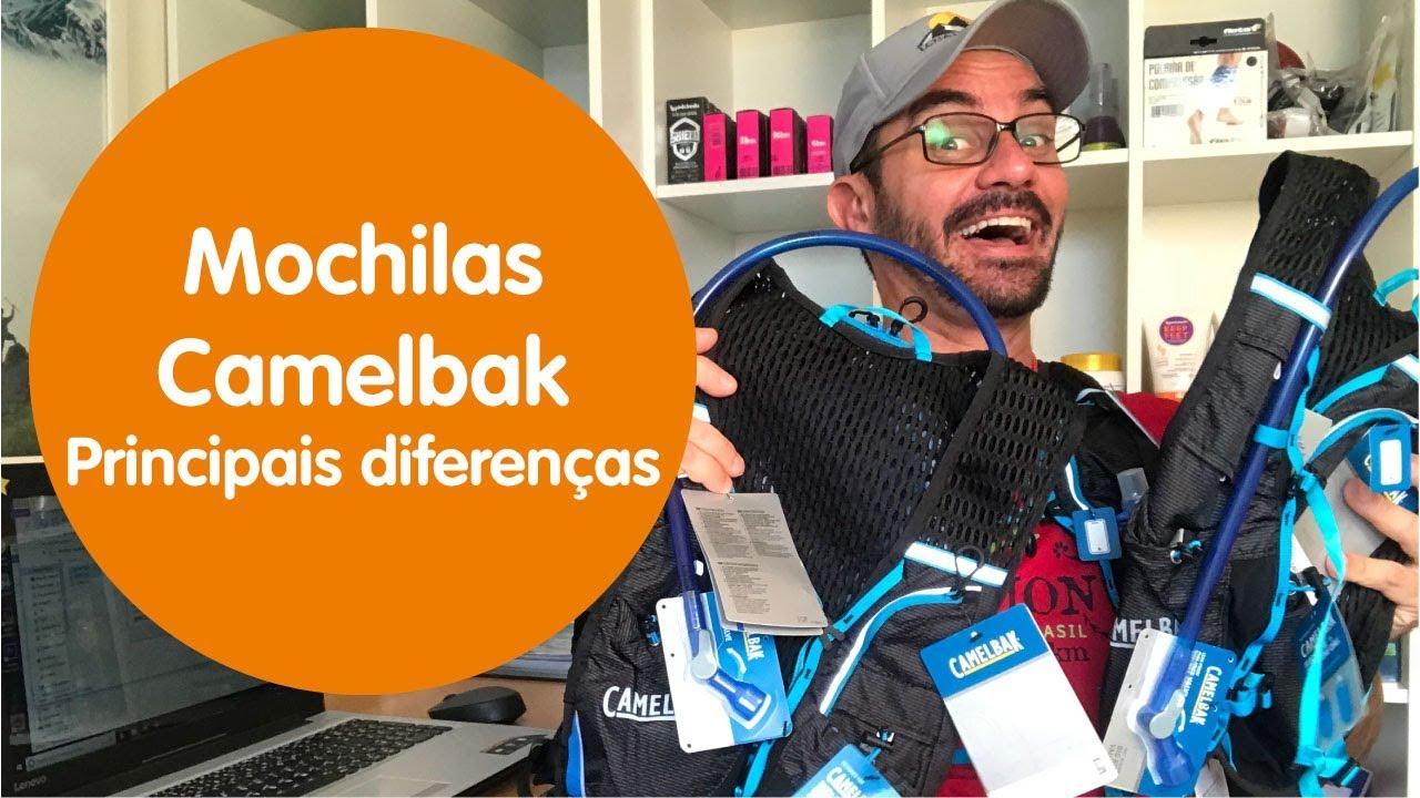 6aa9415b6 Como escolher Mochila Camelbak - Diferenças - YouTube