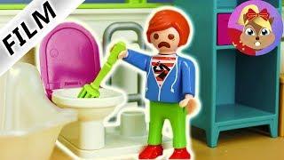 摩比游戏 Playmobil 玩偶影片 小尤的惩罚 收拾屋子