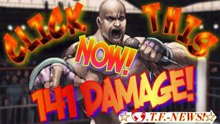 Craig Marduk 141 Damage Combo!????