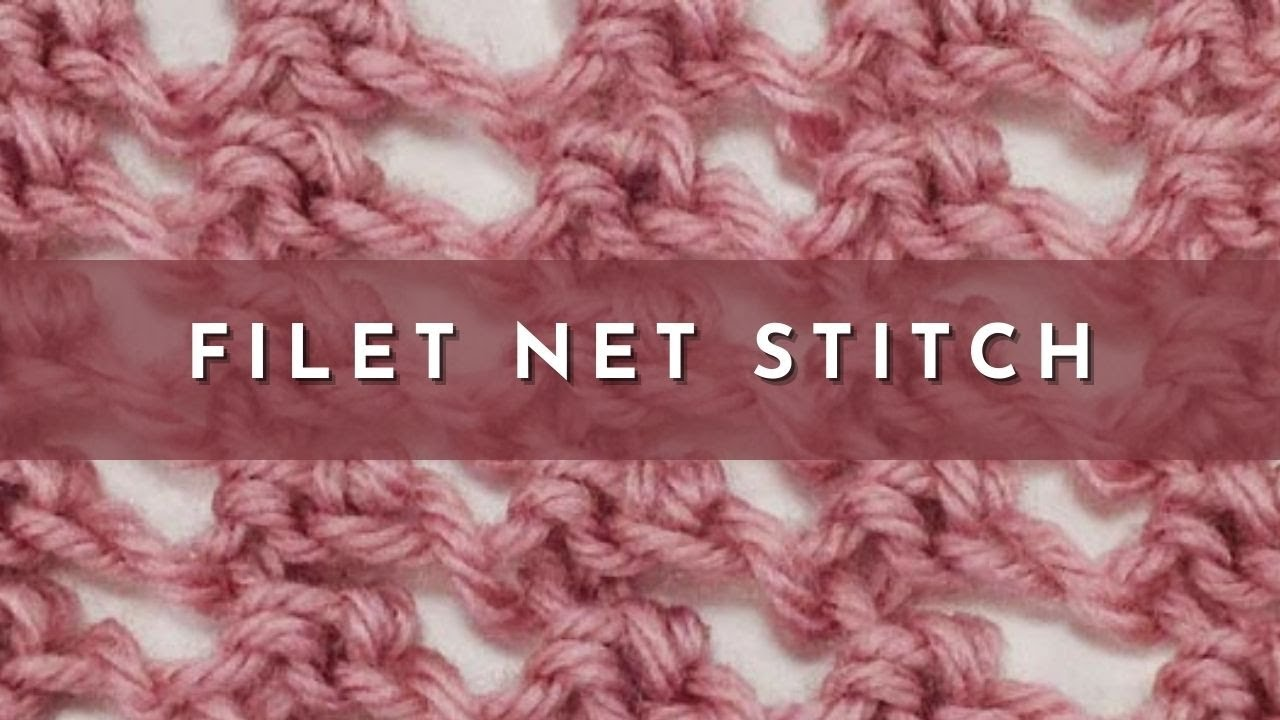 How To Knit The Filet Stitch (english Style)