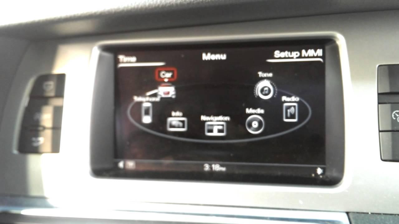 Audi Q7 Service Reset Oil Change Oil Reset Youtube