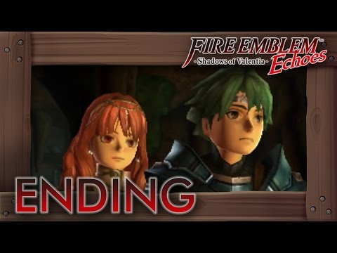 Fire Emblem Echoes - Ending & Character Endings (English Shadows of Valentia)