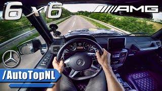 Mercedes G63 AMG 6x6 5.5 V8 BiTurbo POV Test Drive by AutoTopNL