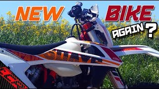 Wait what?? Another New Bike! | 2017 KTM 500 EXC-F 6 Days
