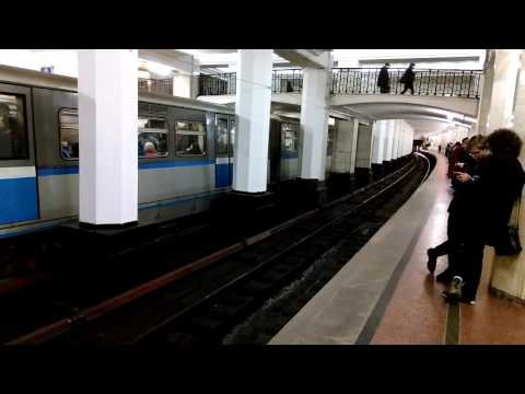 Станция «Александровский сад» Московского метро