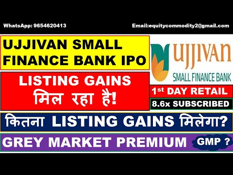 ujjivan-small-finance-bank-ipo-review-|-listing-gains-कितना-मिलेगा?-|detail-analysis-|apply-or-avoid