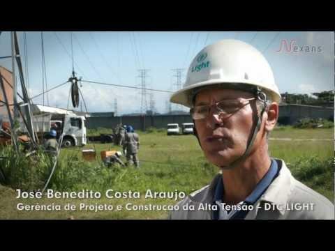 NEXANS DOCUMENTARY 2 - Cable AeroZ Lo-sag on Rio de Janeiro / 138kV Power Line
