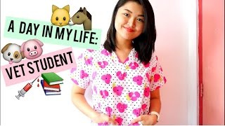 A Day in the life of a Vet Student  | Arah Virtucio