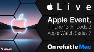 Live Apple Event iPhone 13, Apple Watch Series 7, Airpods 3 ⎜ORLM-415