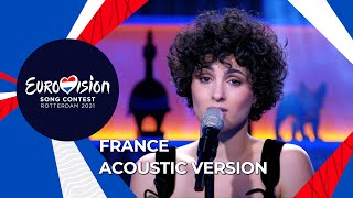 Barbara Pravi - Acoustic version of Voilà - France 🇫🇷 - Eurovision 2021