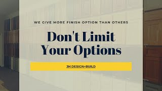 Unlimited Finish Selections
