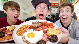 5000 Calories of FULL ENGLISH BREAKFAST!!!