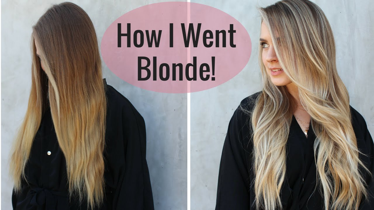 My New Hair Color How I Went Blonder