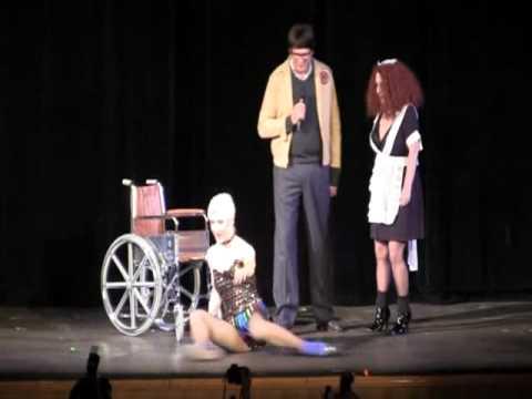 Brad (Barry Bostwick) Majors appearance, Magenta, Little Nell re-enact undressing him
