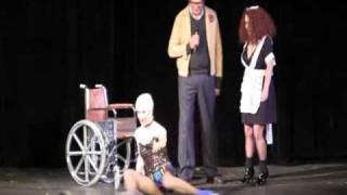 Brad (Barry Bostwick) Majors appearance, Magenta, Little Nell re-enact undressing him