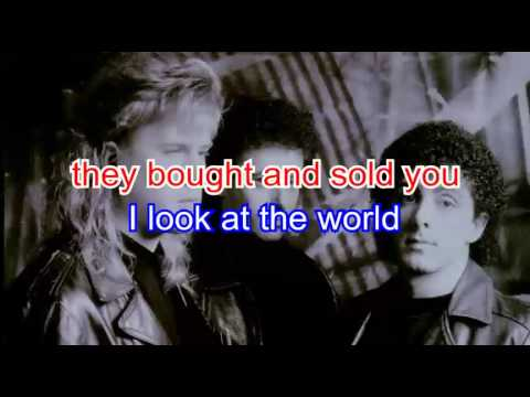 Karaoke - Jeff Healey Band - While my guitar gently weeps - YouTube