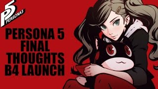 Persona 5 final thoughts and Persona 1/2 remaster?