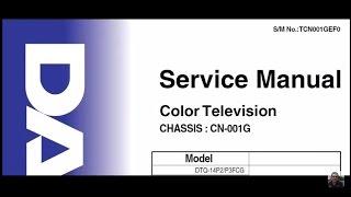 Asesoría en reparación de tv II. John Quirós