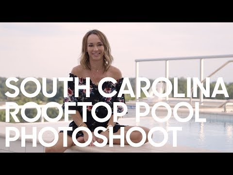 South Carolina Rooftop Photoshoot | Behind the Scenes