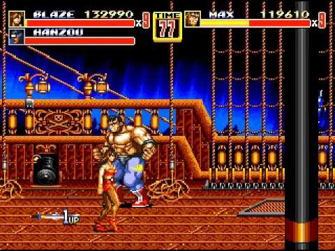Streets of Rage 2 - Instant Kill