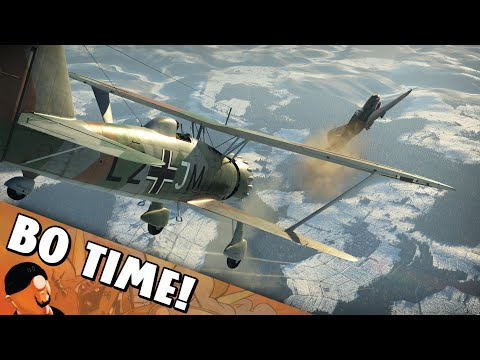"War Thunder - Hs 123 A-1 ""The New Biplane In Town"""